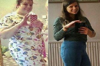 Она потеряла 50 кг за 10 недель, благодаря военной диете