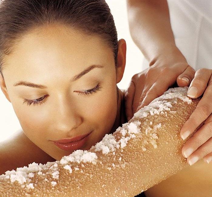 Используйте морскую соль, чтобы улучшить свое тело