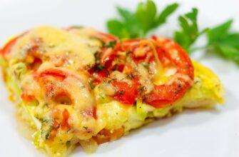 ПП-ужин - вкусная и сочная овощная запеканка