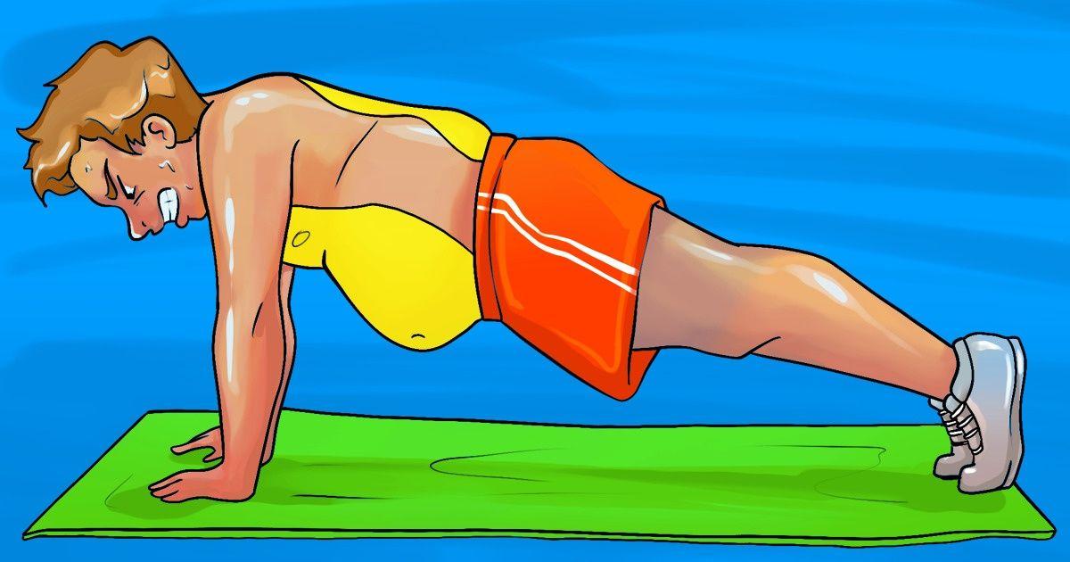 Супер упражнения для избавления от живота