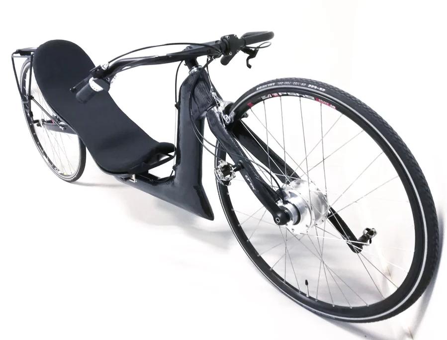 Лежачий велосипед для потери веса